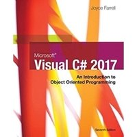 Picture of Microsoft Visual C#: 2017 An Introduction to Object-Oriented Programming