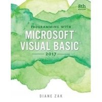Picture of Programmig with Microsoft Visual Basics 2017
