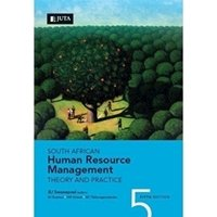 Picture of South African Human Resource Management - Theory and Practice : Milpark - BUSE00-F / FCOM03-F / FCOM04-F / FNUM00-F / HRET00-F / EWEL00-F / FICH04-F