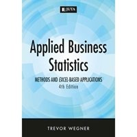 Picture of Applied Business Statistics Methods and Excel-Based Applications