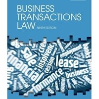 Picture of Business Transactions Law (2017 - 9th edition)