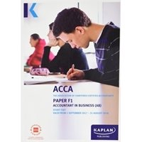 Picture of Kaplan - ACCA F1 Accountant in Business AB