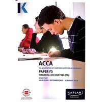 Picture of Kaplan - ACCA F3 Financial Accounting FA (INT/UK)
