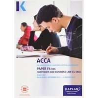 Picture of Kaplan - ACCA F4 Corporate and Business Law CL (UK)
