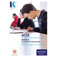 Picture of Kaplan - ACCA F1 - Accountant in Business AB