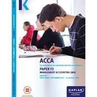 Picture of Kaplan - ACCA F2 - Management Accounting MA