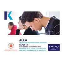 Picture of Kaplan - ACCA F2 Management Accounting MA