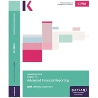 Picture of Kaplan  - CIMA - F2 Advanced Financial Reporting - Study Text