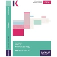 Picture of Kaplan  - CIMA - F3 Financial Strategy - Study Text