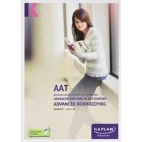 Picture of Kaplan - AAT Advanced Bookkeeping AVBK 2017/18