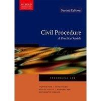 Picture of Civil Procedure - A Practical Guide: Milpark - OALA01-5: P