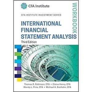 Picture of International Financial Statement Analysis Workbook