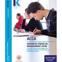 Picture of Kaplan - ACCA  - AFM - Advanced Financial Management  - Study Text