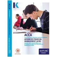 Picture of Kaplan - ACCA  - AFM - Advanced Financial Management  - Exam Kits