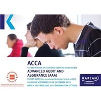 Picture of Kaplan - ACCA  - AAA - Advanced Audit and Assurances  - Pocket Notes