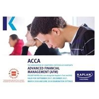 Picture of Kaplan - ACCA  - AFM - Advanced Financial Management  - Pocket Notes