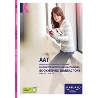 Picture of Kaplan - AAT -  Bookkeeping Transactions - Exam Kits
