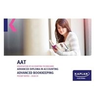 Picture of Kaplan - AAT - Advanced Bookkeeping - Pocket Notes