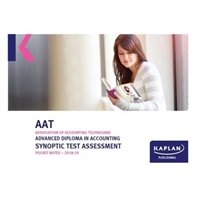 Picture of Kaplan - AAT - Advanced Diploma in Accounting Synoptic Test Assessment - Pocket Notes
