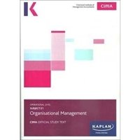 Picture of Kaplan  - CIMA - E1 Organisational Management - Study Text