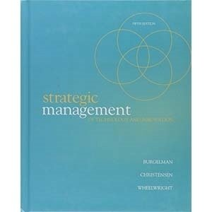 Picture of Strategic Management Of Technology And Innovation