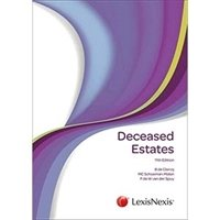 Picture of Deceased Estates 11th ed