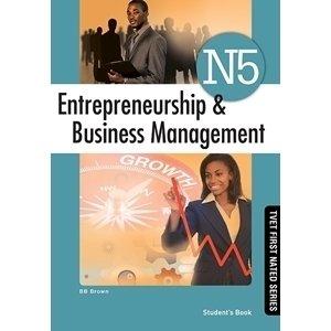 Entrepreneurship & Business Management N5