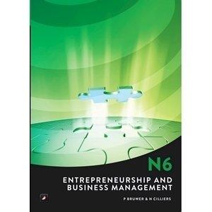 Entrepreneurship N6 Expanding your own Business