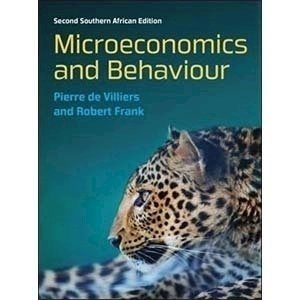 Picture of Microeconomics and Behaviour: South African edition