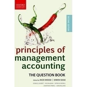 Picture of  Principles of Management Accounting - Question book