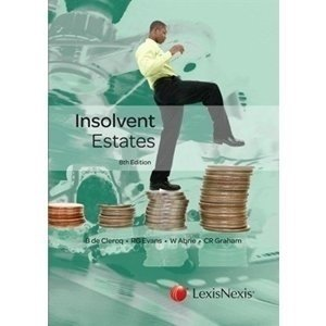 Picture of  Insolvent Estates 8ed: Non-Stock Item - delivery 2 - 3 weeks