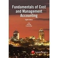Picture of Fundamentals of Cost and Mngment Acc (8th ed)