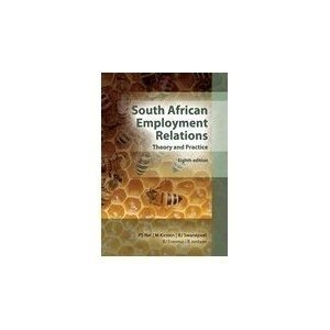 Picture of South African Employment Relations, theory and practice