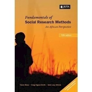 Picture of  Fundamentals of Social Research Methods - An African Perspectiv