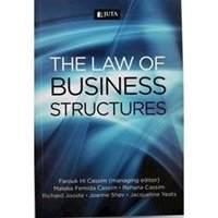 Picture of  Law of Business Structures, (2012): Soft Copy