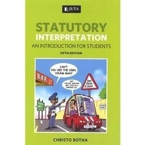 Picture of Statutory Interpretation: An Introduction for Students (2012 - 5th edition): Soft Copy / CD Rom Suport Material
