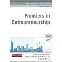 Picture of  Frontiers In Entrepreneurship Book 1