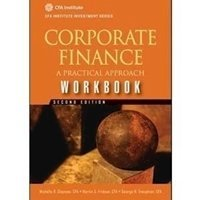 Picture of Corporate Finance Workbook A Practical Approach