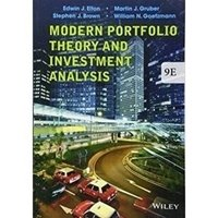 Picture of Modern Portfolio Theory and Investment Analysis