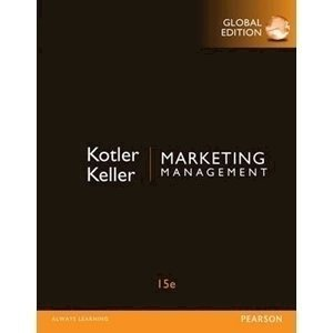 Picture of  Marketing Management (Global Edition) 15th Ed