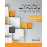 Picture of  Keyboarding and Word Processing, Complete Course,