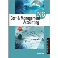 Picture of Cost and Management Accounting N6