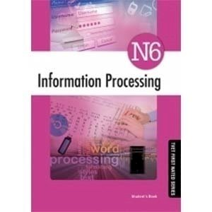 Picture of Information Processing N6 Student Book