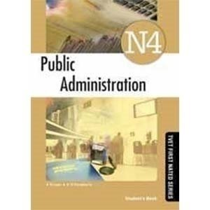 Picture of Public Administration N4