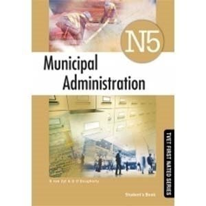 Picture of Municipal Administration N5 New ISBN