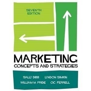 Picture of Marketing: Concepts and Strategies, 7th Edition (2016)