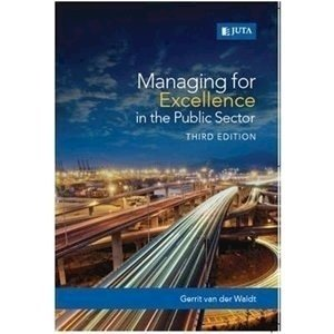 Picture of Managing for Excellence in public Sector
