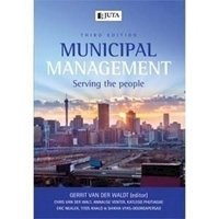 Picture of  Municipal Management: Serving People (2018 - 3rd edition): Soft Copy