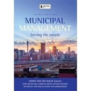 Picture of  Municipal Management: Serving People ( - 3rd edition): Soft Copy