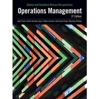 Picture of  Operations Management Global & Southern African Perspectives